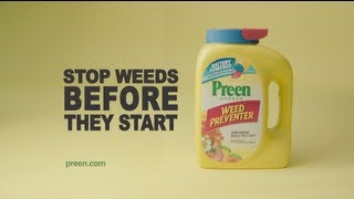 "Preen ""Weed Preventer"""